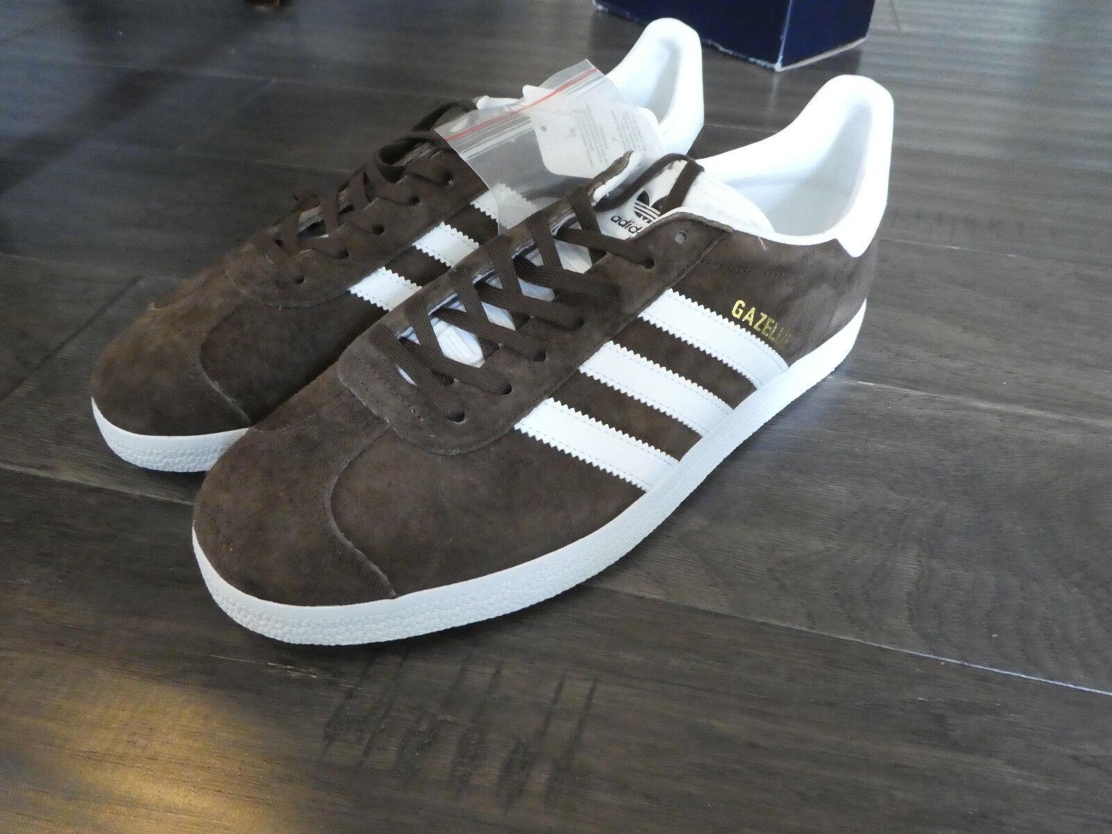 les nouvelles chaussures adidas gazelle bb5254 chaussures en daim daim en marron 4c94b3