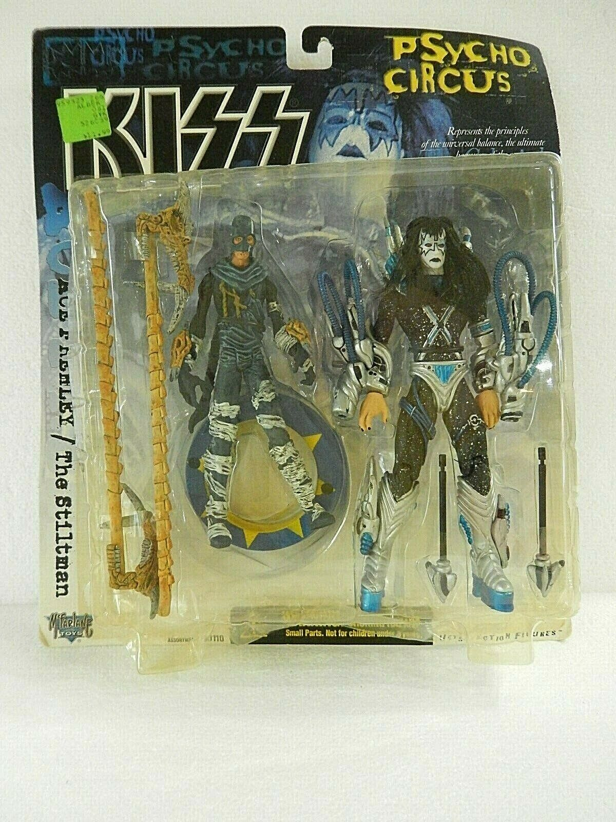 (TAS031385) - McFarlane Toy Kiss Psycho Circus Figure - Ace Frehley The Stiltman