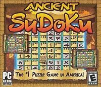ANCIENT SUDOKU (2005) PC CD-ROM NEW & FACTORY SEALED