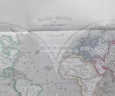 ANTICA CARTOGRAFIA_MAPPAMONDO_AMERICA_ASIA_OCEANIA_EUROPA_AFRICA_OCEANI_LAURENS