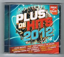 PLUS DE HITS 2012 - CD 21 TRACKS - 2012 - NEUF NEW NEU