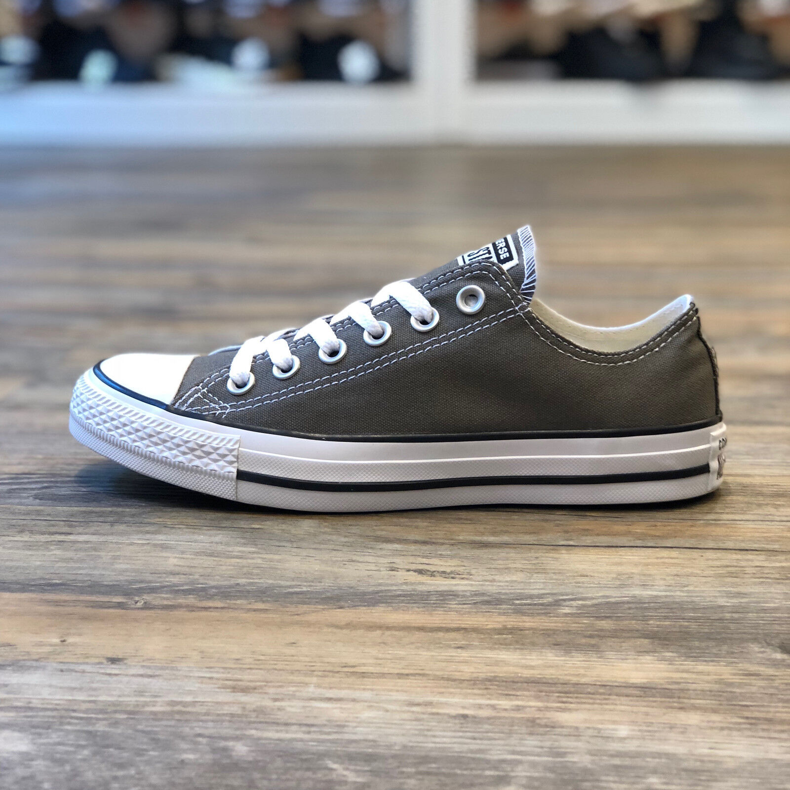 Converse Os Taille 5 Star Low Turn All Gris 42 Chaussures N80mnw