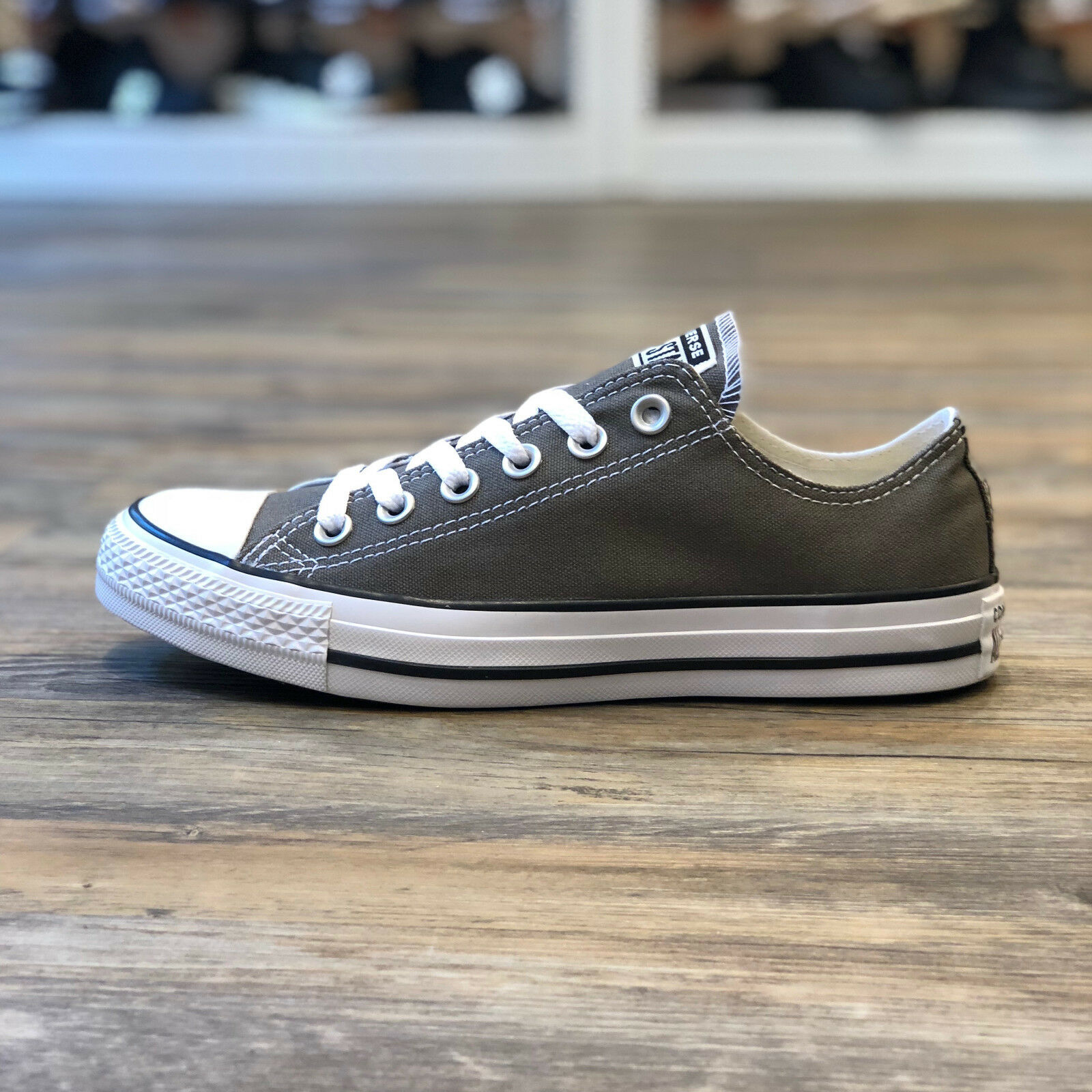 Converse All Star OS Low taille 44,5 gris Chaussures Turn baskets Charcoal Femmes 1j794c