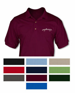 Alfa-Romeo-Spider-Veloce-Convertible-1970-82-Polo-Shirt-Multiple-Colors-Sizes