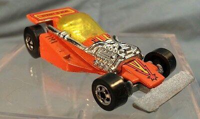 Vintage 1981 Hot Wheels: LAND LORD Street is Neat Orange Open Wheel Race Car