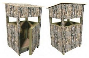 Deer Stand Box Blind Plans Hunting Build Your own Easy Instructions