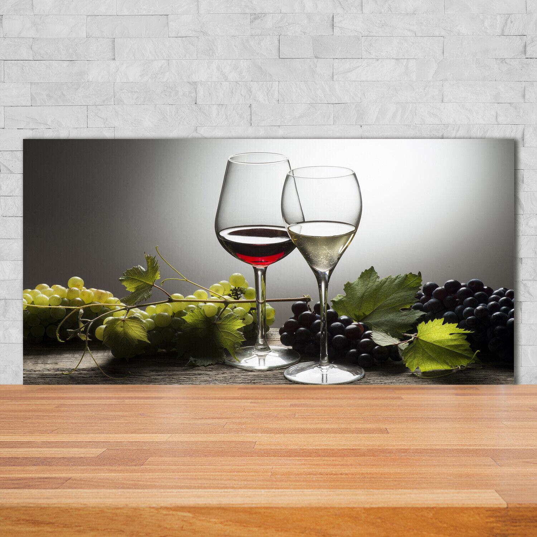 Küchenrückwand Spritzschutz aus Glas 125x50 Deko Essen /& Getränke Kaffee Gewürze