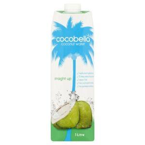 Cocobella Zero Fat 5 Key Electrolytes Straight Up Coconut Water Drink 1L
