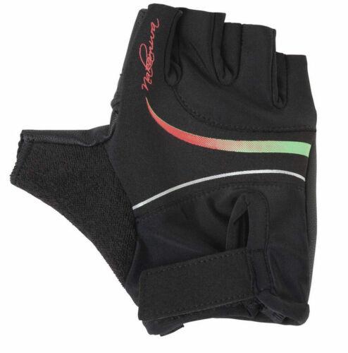 Nakamura Ladies Fahrrad-Bike-Handschuhe Dogana Black Red