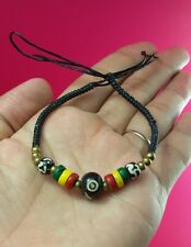 Bob Marley Bracelet Rasta Reggae Surfer Friendship Brass Bracelet Jamaica