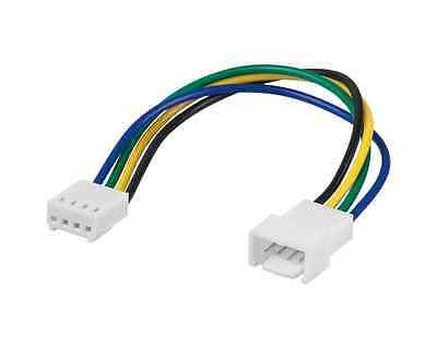 Internes PC Computer Lüfter Stromkabel – 4pol Stecker zu 4pol Buchse – 0,15m