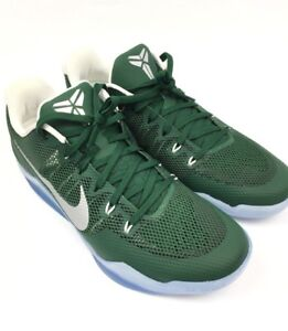 hot sales 844a2 6ce0a Image is loading Nike-Kobe-XI-TB-Promo-Basketball-Shoes-Green-