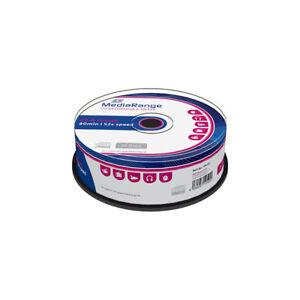 CD-R-52x-700MB-MediaRange-Tarrina-25-uds
