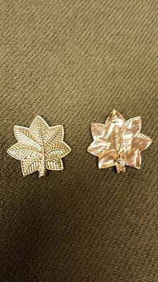 WWI US Army/ USMC Officer Full Size Major Insignia Pins, One Pair