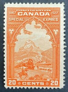 MLH-F-SC-E3-20c-orange-Confederation-issue-Special-Delivery-Fresh-Example-ST8