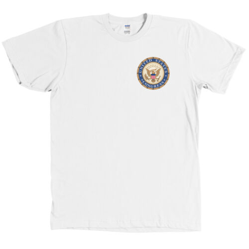 Seal of the United States Congress Logo Shirt US Political Tee NEW
