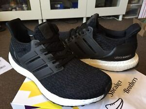 875292192 Adidas Ultra Boost W Womens Core Black 3.0 2017 Dark Shale White ...
