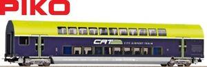 Piko-H0-58811-Doppelstockwagen-2-Klasse-CAT-der-OBB-034-Neuheit-2020-034-NEU-OVP