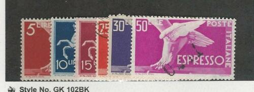 Italy, Postage Stamp, #E19E24 Mint & Used, 194551