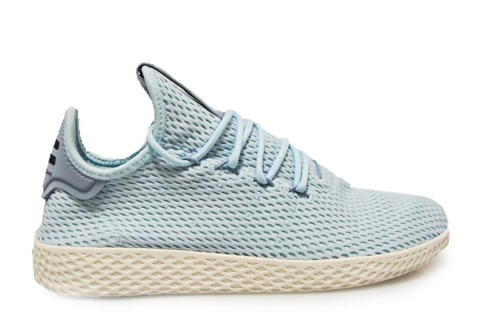 Mens Adidas Pharrell Williams Tennis Hu - CP9764 - Ice bluee Trainers