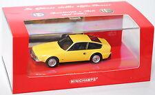Minichamps 436120720 Alfa Romeo Junior Zagato GT 1600, Modell 1972-1975 1:43 OVP