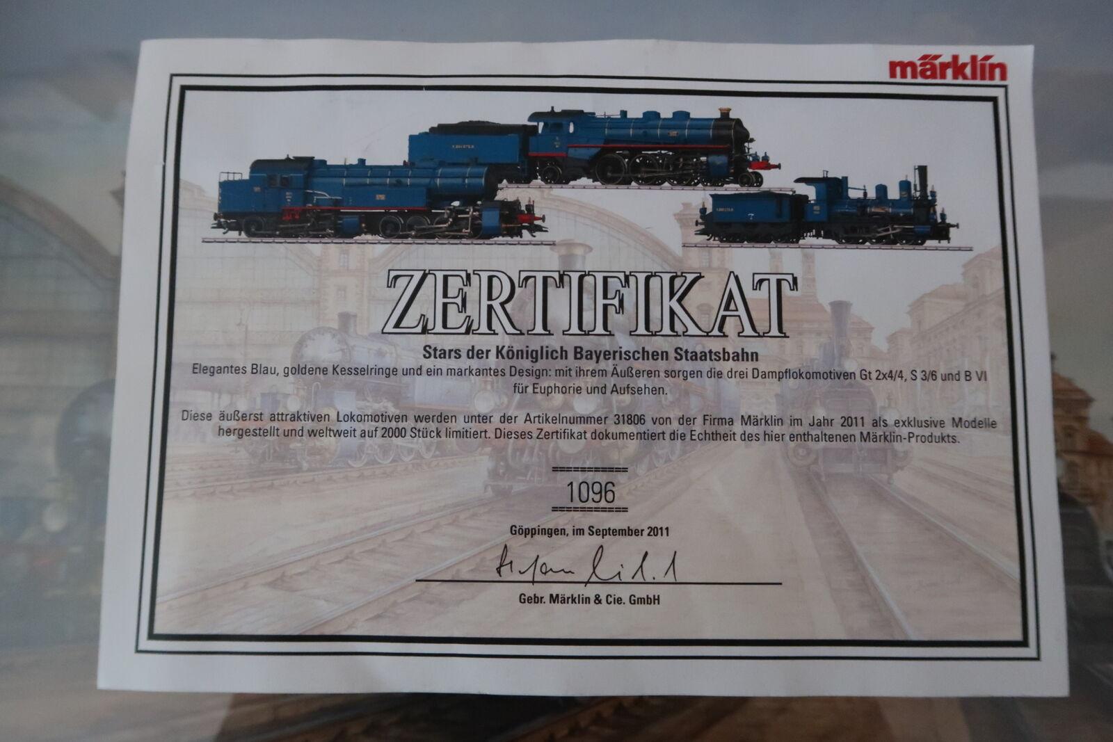 HO/AC 31806 Certificato ORIGINALE  da/54-19s2