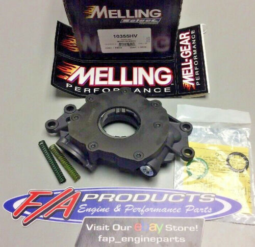 Melling 10355HV 2006-2017 Chevy LS 5.3 6.0 6.2 Engines High Volume Oil Pump