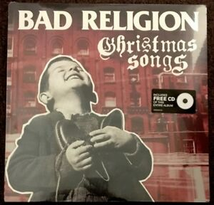 Bad-Religion-Christmas-Songs-EP-Vinyl-New-LP-Album-CD-Etched
