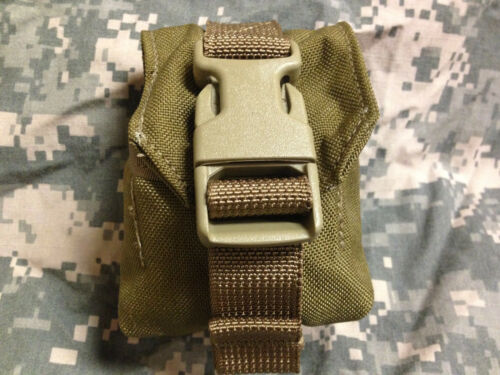 LOT OF 100 EAGLE INDUSTRIES USMC FRAG GRENADE POUCH/'S SINGLE MC-FGC-1-MS-COY NEW