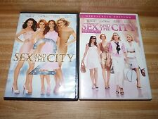 Sex and the City the Movie wide screen edition  and SATC 2 used DVDs, excellent