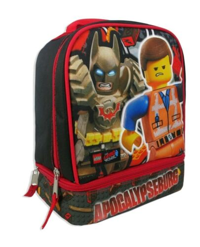 Details about  /Lego Movie 2 Apocalypseburg 9/' Dual Zippered Lunch Bag Tote