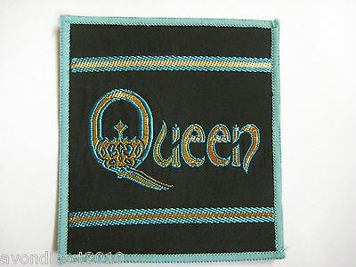 QUEEN - Vintage 1980's Sew On Cloth Patch NEW OLD STOCK