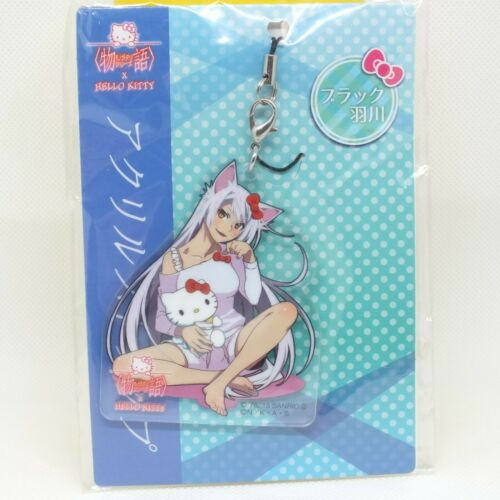 Bakemonogatari Acrylic Strap Hello Kitty Collaboration Tsubasa Hanekawa