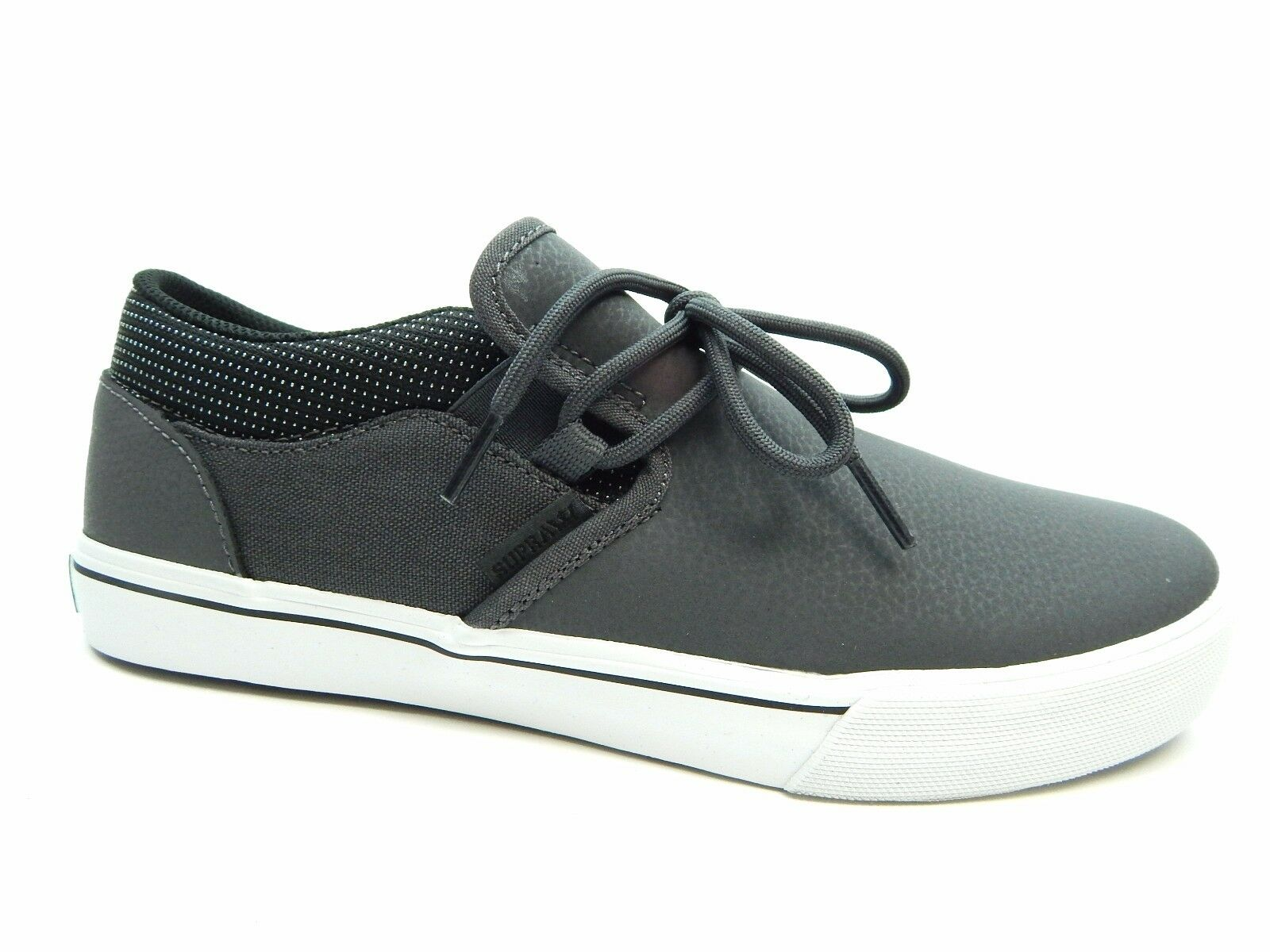 confortevole SUPRA CUBA grigio grigio grigio nero bianca Uomo scarpe  profitto zero