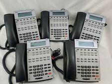 Qty 5 Nec 22b Hfdisplay Aspirephone Black Model Ip1na 12txh Tel Telephones