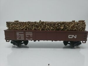 Canadian-National-40-039-with-Load-Gondola-CN-70450-HO-Scale-Q5