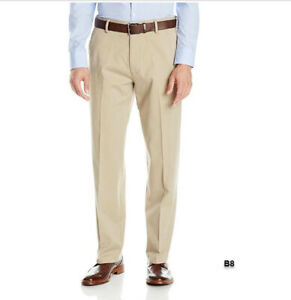 Dockers Mens Relaxed Fit Flat Front Chino Pants