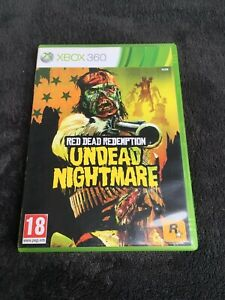 Jeu-xBox-360-Red-Dead-Redemption-Undead-Nightmare-PAL-CD-etat-neuf
