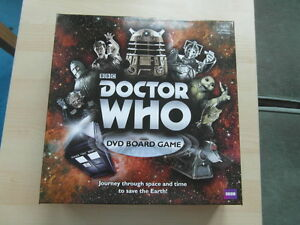 BBC-Doctor-Who-DVD-Board-Game-Excellent-Condition