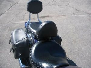 Driver S Backrest Backrest Pad For Yamaha V Star Classic