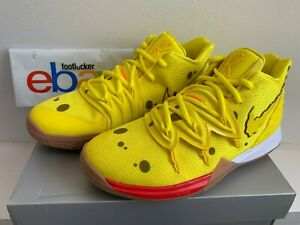 Details about Nike Kyrie 5 Spongebob Squarepants CJ6951-700 Yellow Kids &  Men's Size 7C-9.5