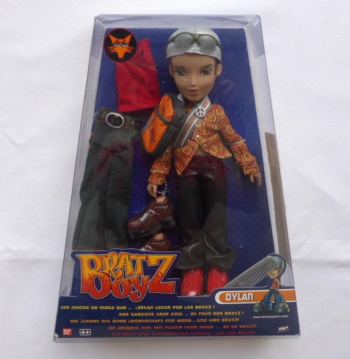 BRATZ boy DYLAN  moda BAMBOLA 2002 Beai  in vendita online