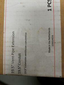 Ubbink 19 5 Vent Pipe Extension 19 5 Conduit Ebay