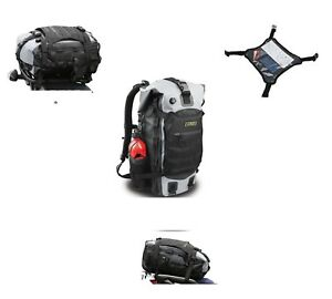 2ad4e5f7a66 Image is loading Nelson-Rigg-Hurricane-20L-Waterproof-Motorcycle-Backpack- Tail-