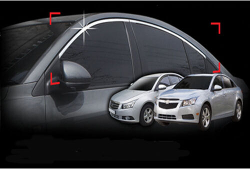 Top Window Accent Line Trim 4p 1set For 2008-2015 Chevy Cruze 4DR