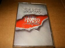 AC/DC The Razors Edge Cassette,Used,Plays Fine,Canada.