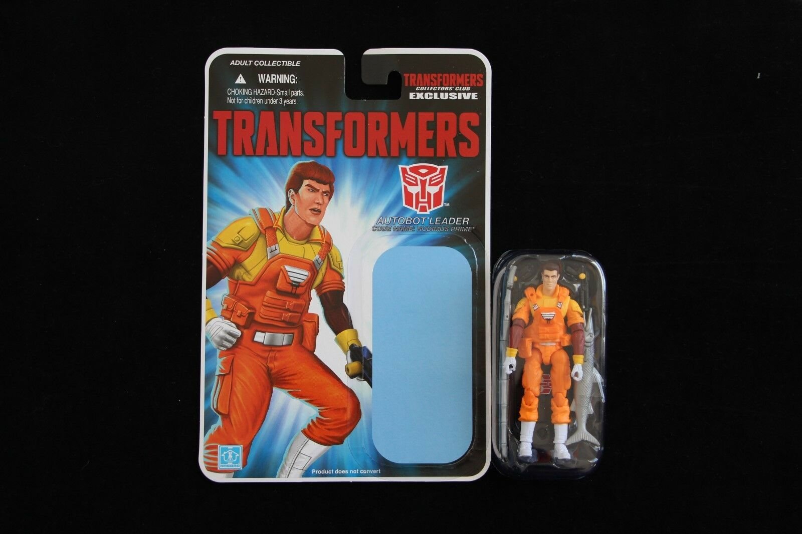 GI Joe Collector's Club Crotver Only Human Rodimus Prime Figure New Complete