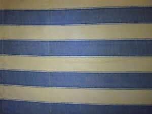 Image Is Loading Waverly Polo Wide Ticking Stripe Balloon Valance Blue