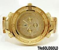 Mens Super Techno Diamond Watch By Jo Rodeo Jo Jo Jino M-6335 0.10 Ct