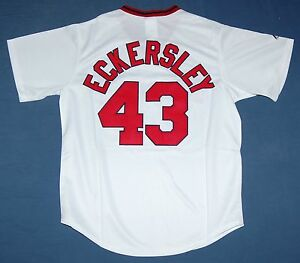 f4830993f Image is loading DENNIS-ECKERSLEY-BOSTON-RED-SOX-MAJESTIC-COOPERSTOWN-SEWN-